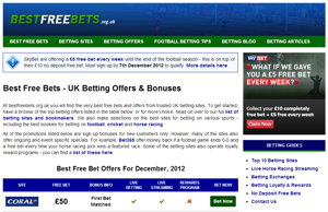 Best Free Bets Screenshot